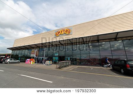 June 4th, 2017, Cork, Ireland - Smyths Toys Superstore in the South Ring Retail Park