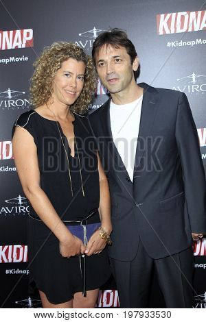 LOS ANGELES - July 31:  Sarah Webster, Luis Prieto at the
