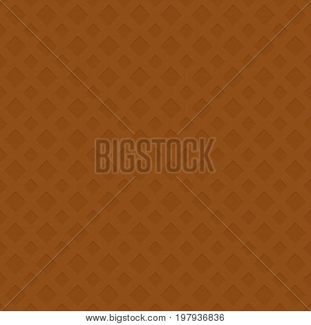 Seamless perforated square pattern texture background - 3d geometric vector illustration with shadow effect