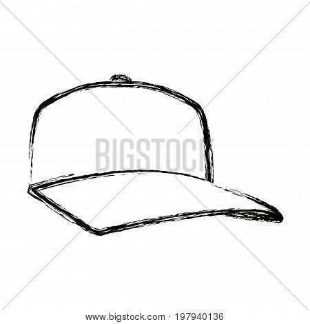 baseball cap sport fashion clothing head vector illustration
