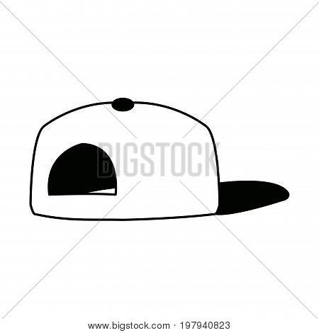 baseball cap sport accessory fashion back view