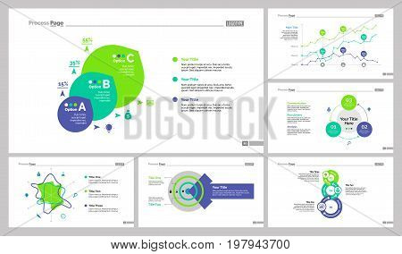 Infographic design set can be used for workflow layout, diagram, annual report, presentation, web design. Business and analysis concept with process, line, area and percentage charts.