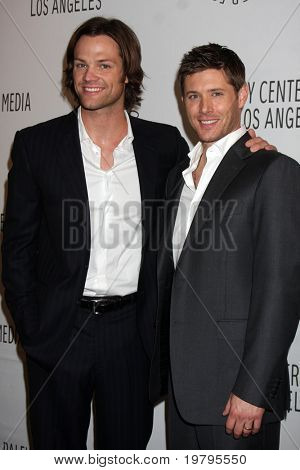 LOS ANGELES - MAR 13:  Jared Padalecki and Jensen Ackles arrive at the