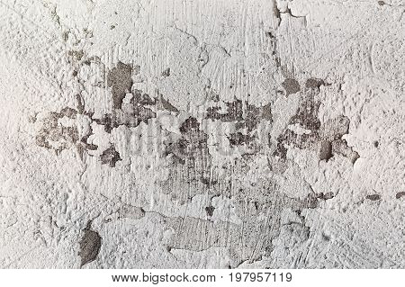 Cracked Concrete Wall Texture Background
