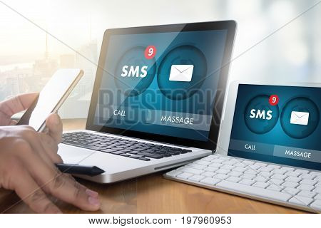 Sms Messaging Communication Notification Alert Reminder Sms