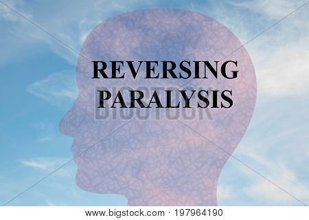 Reversing Paralysis - Medical Concept