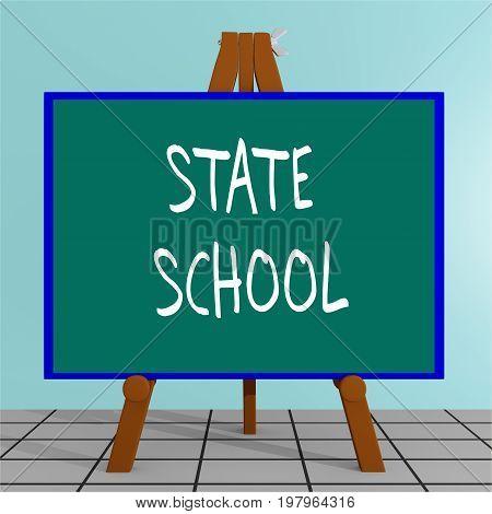 State School Concept