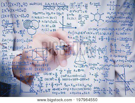 Hand Writing Math Formula