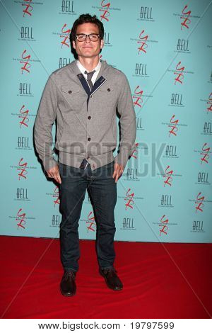 LOS ANGELES - MAR 18:  Greg Rikaart arriving at The Young & the Restless 38th Anniversary Party Hosted by The Bell Family at Avalon Hotel on March 18, 2011 in Beverly HIlls, CA