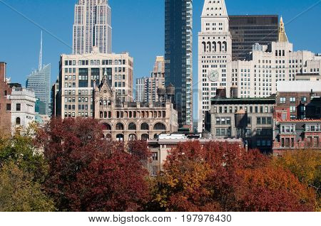 Union Square, Color Image, Outdoors, Horizontal Image, Day