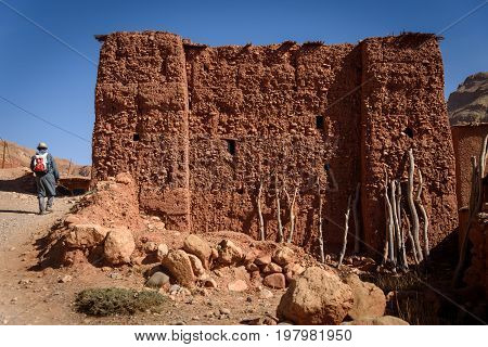 Ruins In The Atlas Mountains Of Morocco