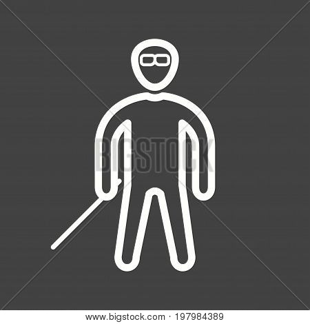 Personality, face, bad icon vector image. Can also be used for Personality Traits. Suitable for web apps, mobile apps and print media.