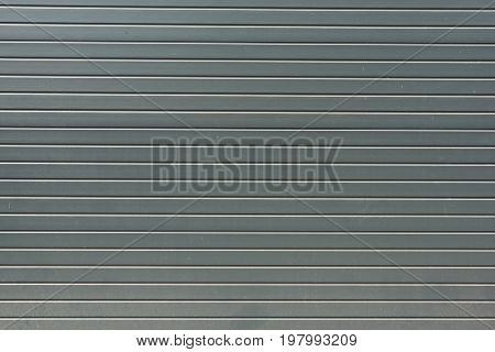 Grey Striped Metal Bling Wall Textured Background