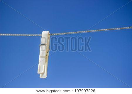 Single Clothesline Peg On Line