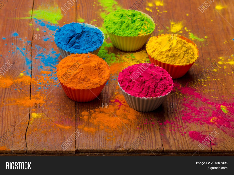Holi Color Powder. Image & Photo (Free Trial) | Bigstock