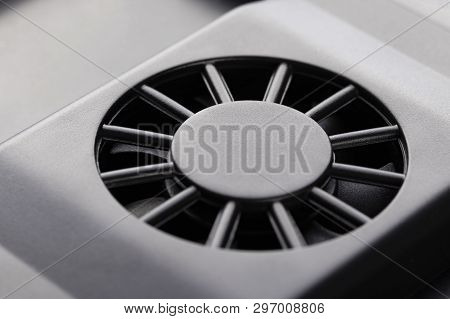 Plastic Fan For Cooling Electronic Devices