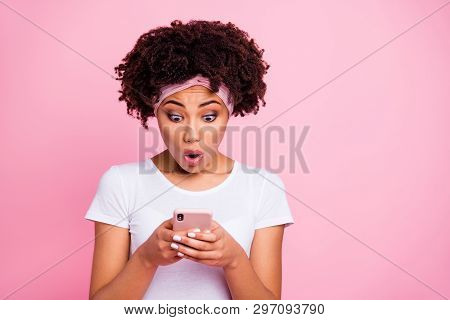 Close-up Portrait Of Her She Nice-looking Charming Cute Attractive Lovely Winsome Worried Wondered W