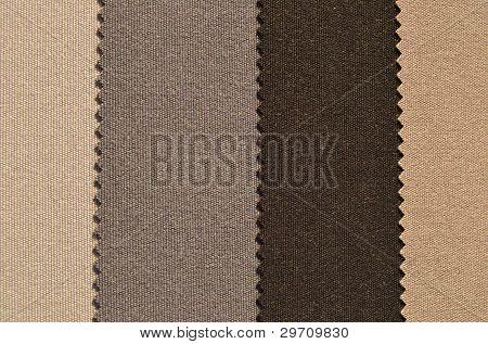 Brown textiles