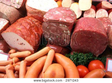 Fleisch Und Wurst / German Meat And Sausages