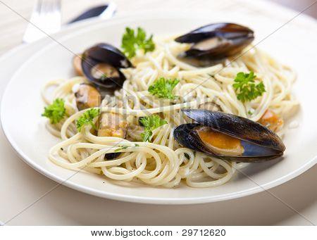 Pasta In A Clam Sauce