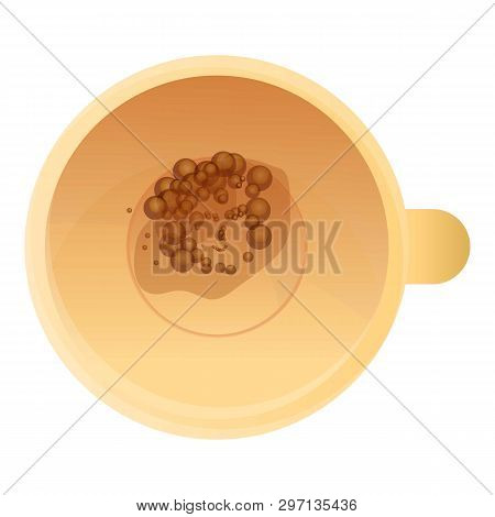 Magic Coffee Fortuner Icon. Cartoon Of Magic Coffee Fortuner Vector Icon For Web Design Isolated On