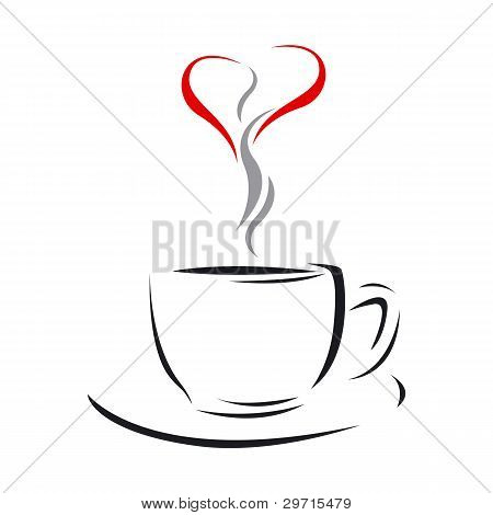 Coffee Cup Of Love