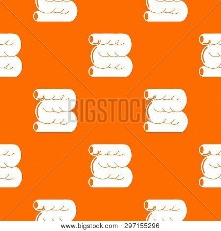 Large Intestine Pattern Vector Orange For Any Web Design Best