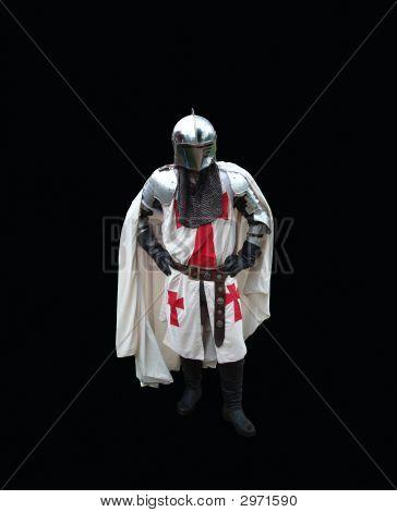 01 Wite Knight On Black