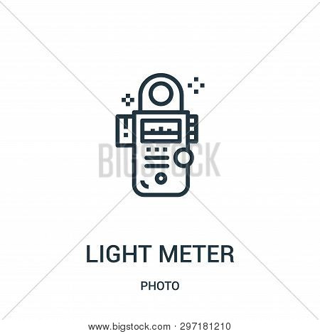 Light Meter Icon Isolated On White Background From Photo Collection. Light Meter Icon Trendy And Mod