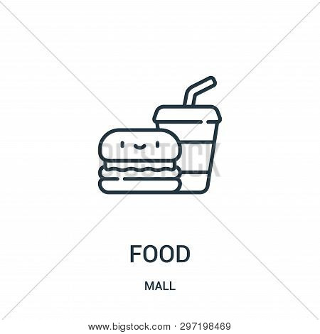 Food Icon Isolated On White Background From Mall Collection. Food Icon Trendy And Modern Food Symbol