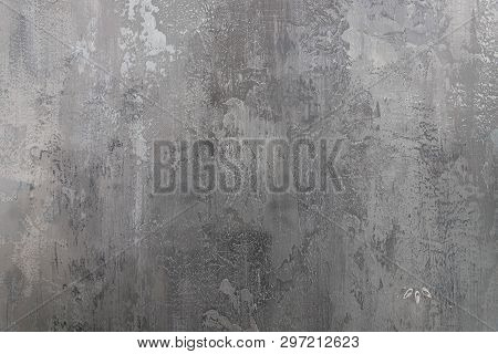 White And Gray Abstract Texture Modern, Vintage Cement Concrete Background And Wallpaper. Art Wall.r