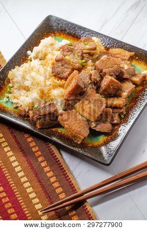 Korean Pork Belly Bokkeum