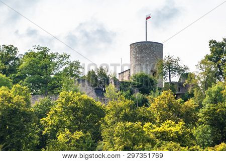 An image of the castle ruin at Nagold Germany