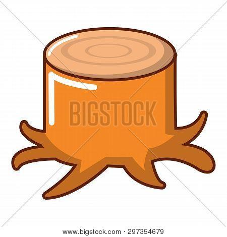 Stump Icon. Cartoon Illustration Of Stump Icon For Web