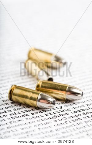 Bullets Over Violence