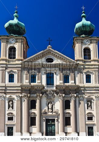 Gorizia, Italy - Church Of Ignazius Of Loyola