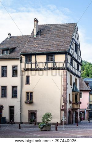 An image of an old house in Thann, France