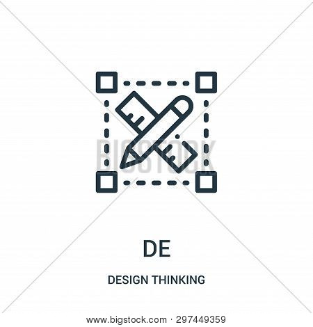 Design Icon Isolated On White Background From Design Thinking Collection. Design Icon Trendy And Mod
