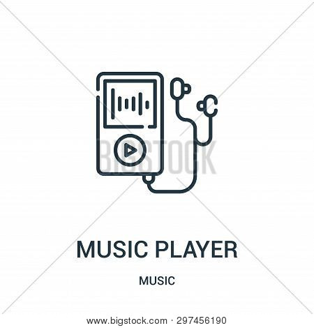 Music Player Icon Vector & Photo (Free Trial)   Bigstock