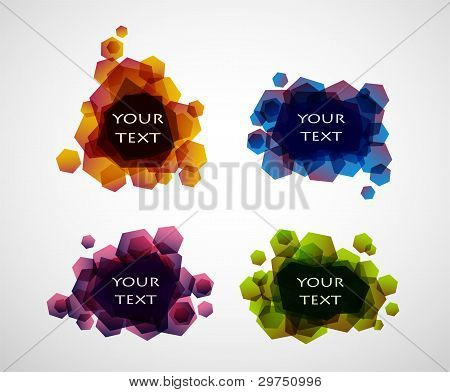 Vector Bubbles For Speech