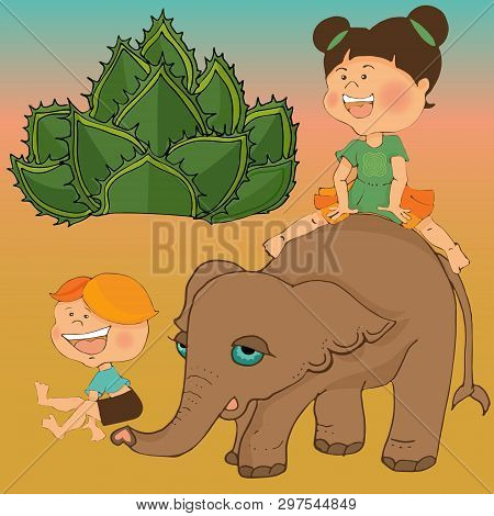 With Elephants On The Move Played Leapfrog.game Of Ciarda