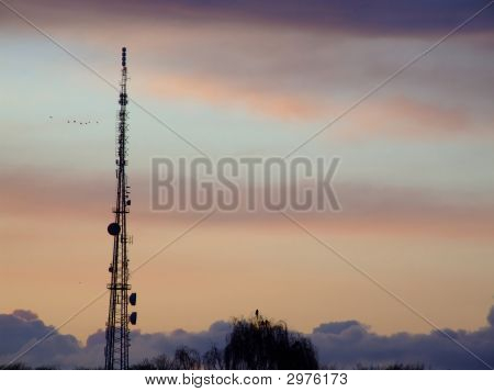 Communications Mast