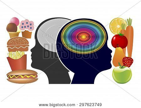 Food Affects The Brain Of Kids. Thinking Skills, Memory And Academic Performance Depend On What Our