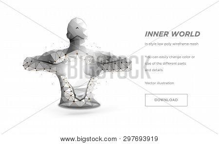 Human Torso Low Poly Vector & Photo (Free Trial)   Bigstock