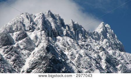 Snow Capped Peak.
