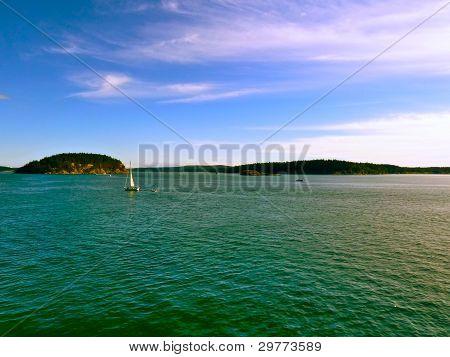 Sailing San Juan Islands, WA