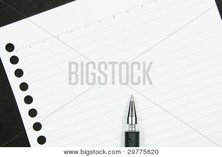 paper and pen