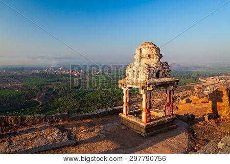 The Group Of Monuments At Hampi Was The Centre Of The Hindu Vijayanagara Empire In Karnataka State I
