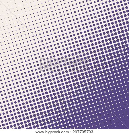 Halftone. Grunge Halftone Vector Background. Halftone Dots Vector Texture. Abstract Dotted Backgroun