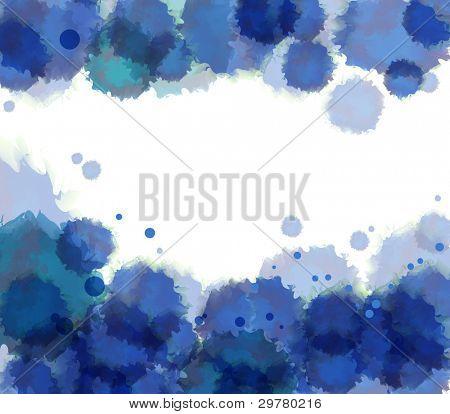 Watercolor background. Vector.